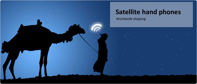 Satellite hand phones. Worldwide shipping
